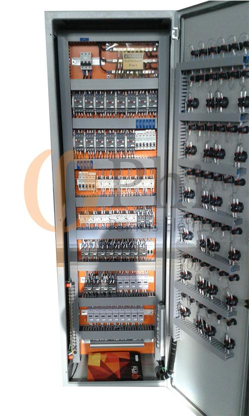Painel de distribuição de energia - Resort Olímpia