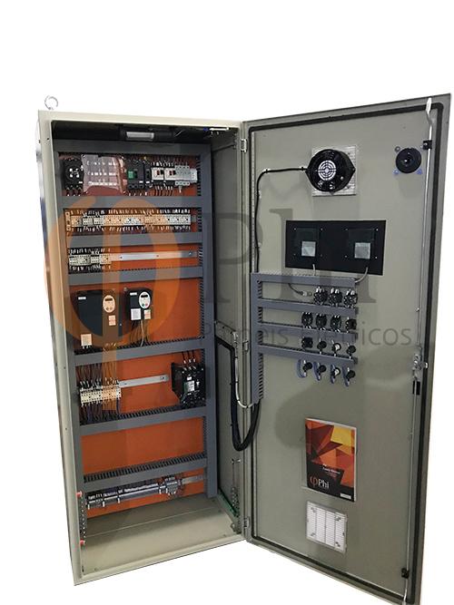 Painéis para acionamento e controle de ar condicionado - Farmacêutica Hipolabor