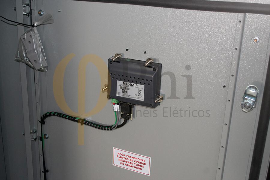 Quadro remoto de automação para Operação via CLP e Supervisório